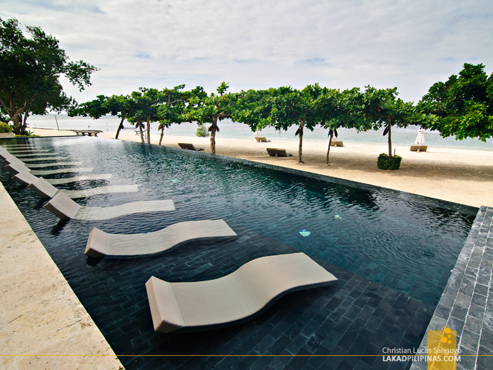 Infinity Pool at Astoria Bohol Resort