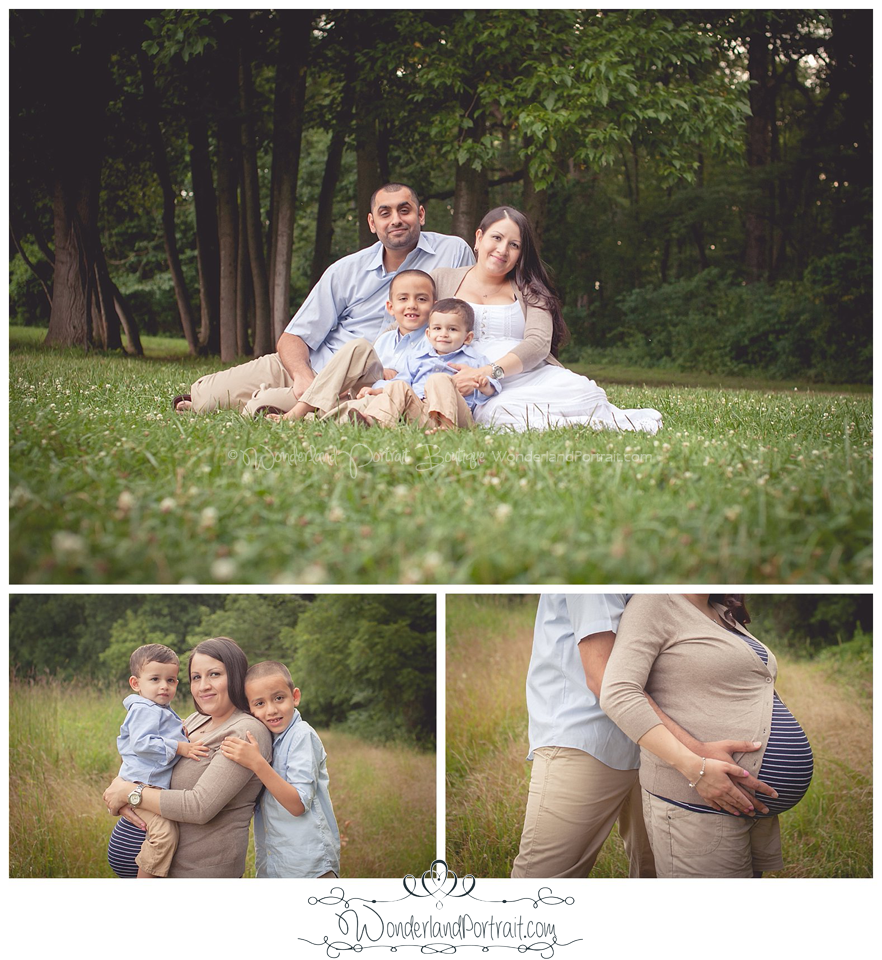 Bucks County PA Pregnancy Portraits WonderlandPortrait.com