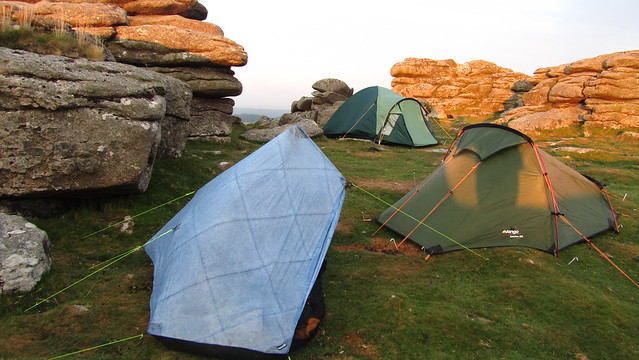 Wildcamp on Pew Tor