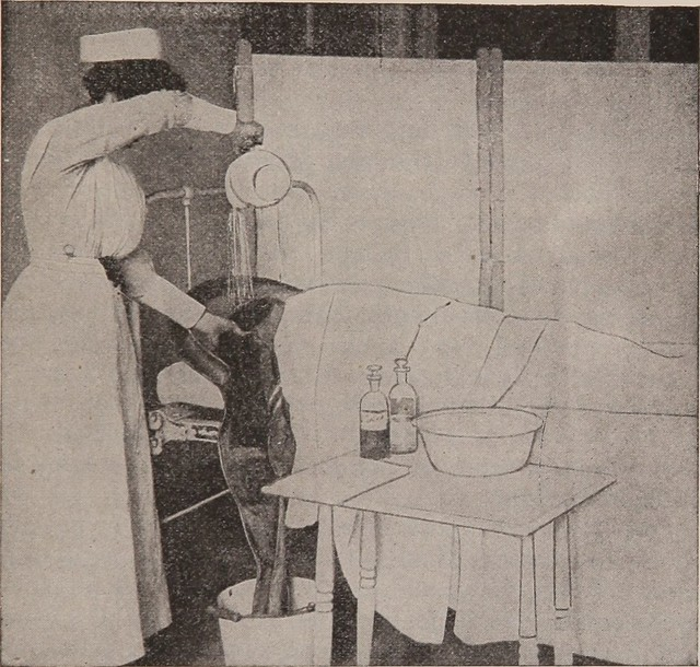 "Image from page 96 of ""First-year nursing : a text-book for pupils during their first year of hospital work"" (1921)"