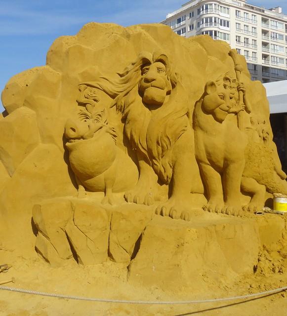 Sculpures sur sable Disney - News Touquet p.1 ! 14770259930_ebfe52d95a_z