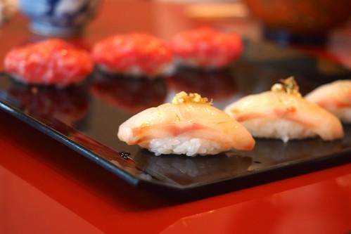 昼食 奴寿司 たい