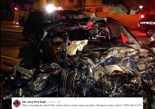 San Jose Weekend Carnage