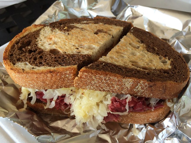 Classic reuben sandwich - Royalicious Bagel Bakery