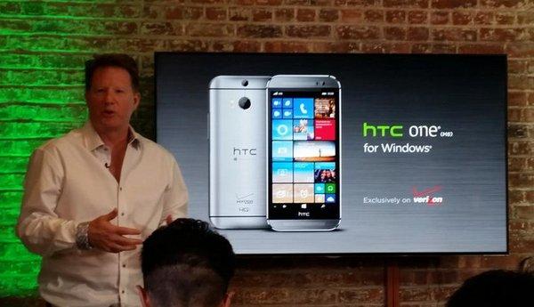 HTC One M8 на Windows Phone 8.1