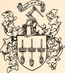 """Image from page 206 of """"Armorial families : a directory of gentlemen of coat-armour"""" (1905)"""