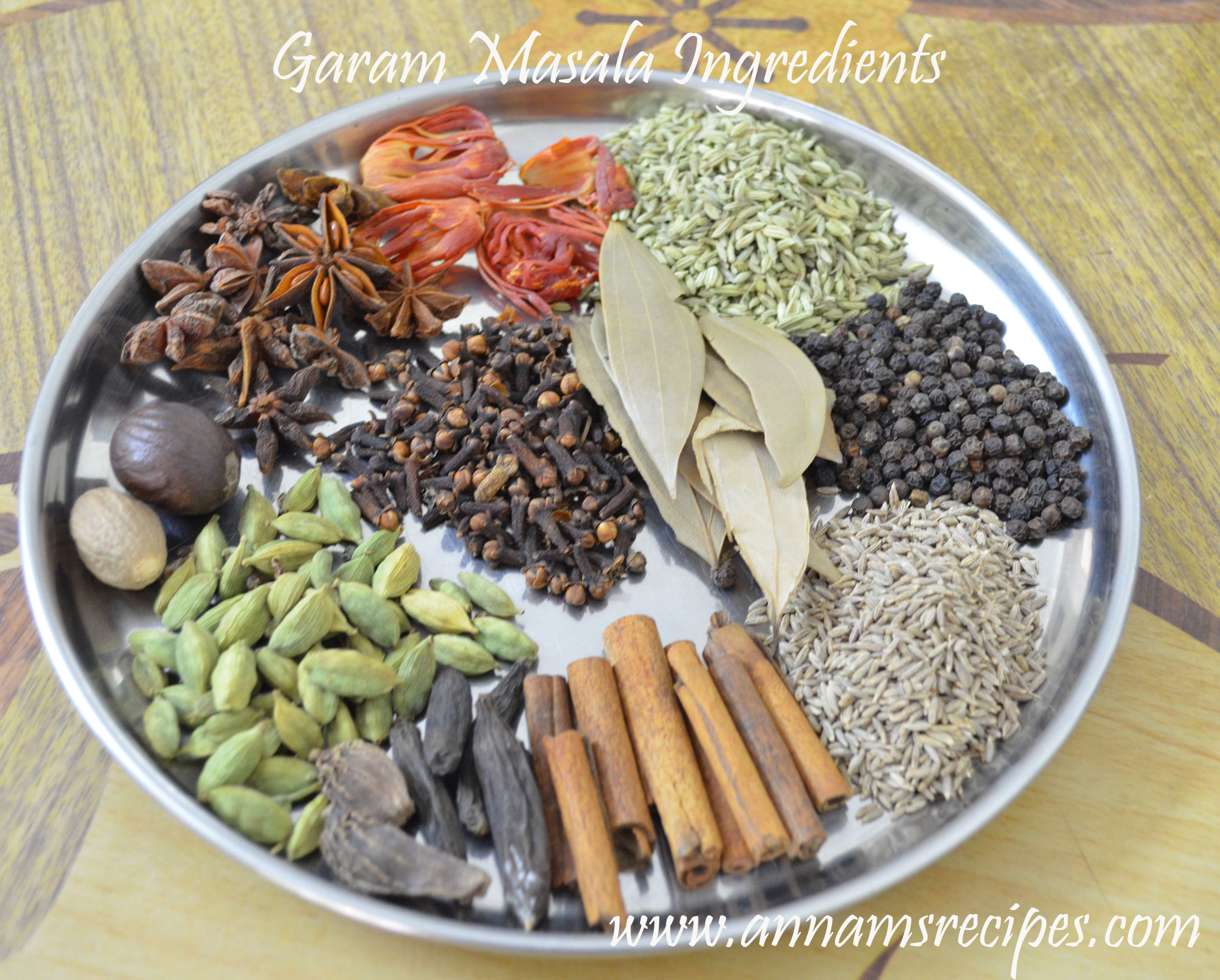 Garam Masala Powder ~ food lite