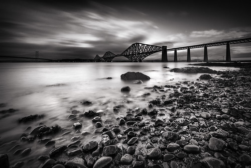 bw mono scotland blackwhite bridges forth firthofforth forthrailbridge nikond800 leebigstopper nikonafsnikkor1635mm14gedvr