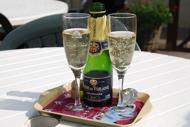 Henri de Verlaine, Champagne...