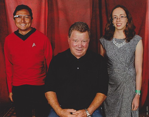 Me and Amy with William Shatner