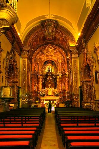 Faro: interno della Chiesa do Carmo