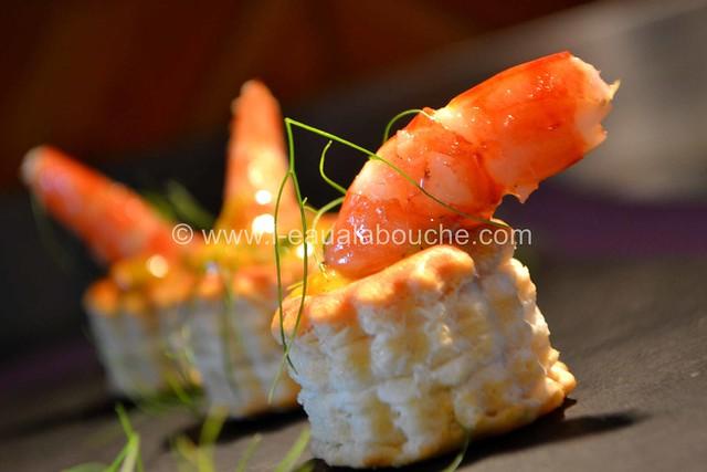 Bouchées aux Crevettes à la Crème de Mangue Pimentée © Ana Luthi Tous droits réservés 026_GF