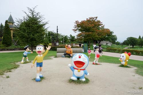 【135日目】ドラえもん公園と氷見へ(富山)