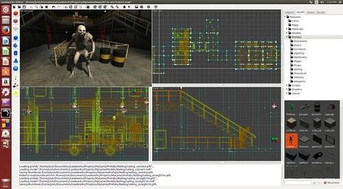 Leadwerks Game Engine (Linux) a Steam-en