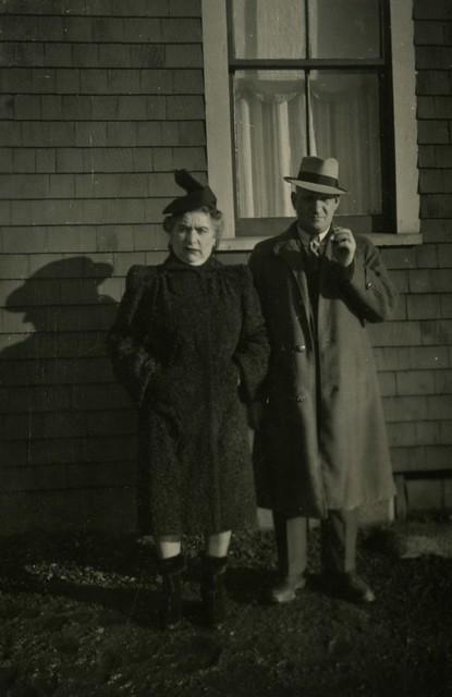 Mrs. and Mrs. Lipkus from Glace Bay, parents of Sarah Lipkus Rose