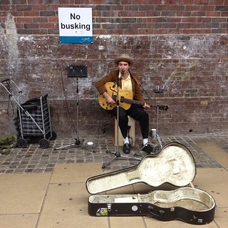 Busking, Southwark, London | by Ashley Coates