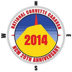 Trip: National corvette caravan 2014