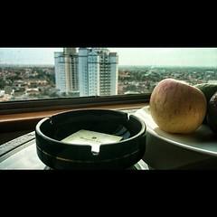 You can still smoke on a five stars hotel in Surabaya.