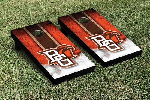 Bowling Green Falcons Cornhole Game Set Vintage Version