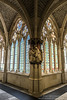 En el claustro alto de la Catedral de Burgos