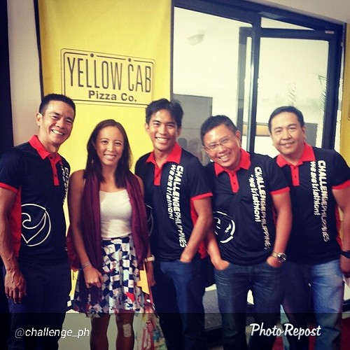 Yellow Cab Challenge Philippines + Challenge Camsur presscon