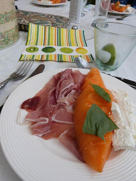 melon jambon feta