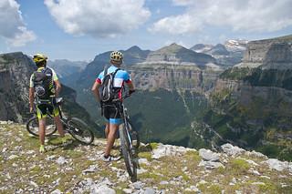 En bici por los Pirineos.