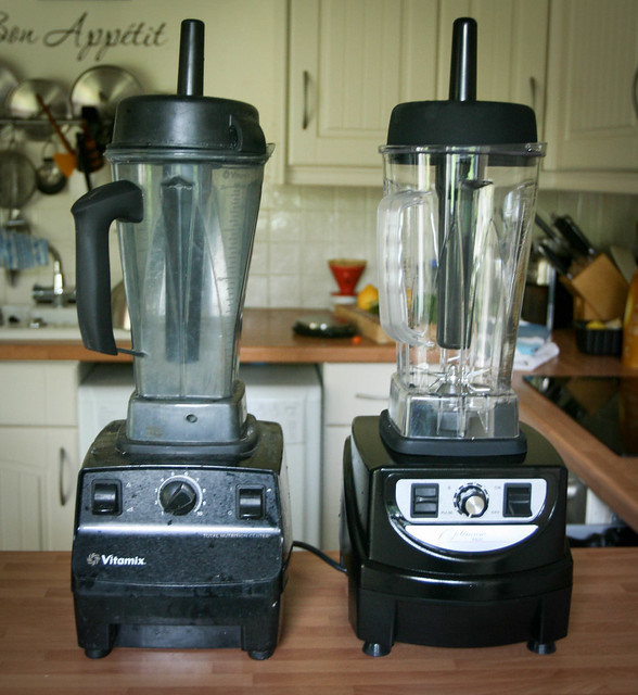 Froothie vs Vitamix