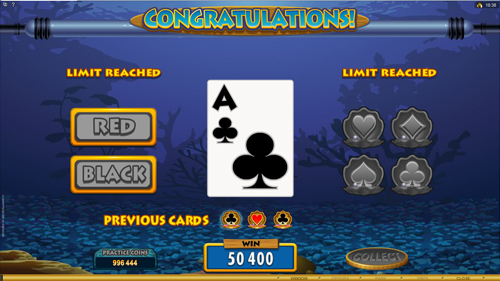 Fish Party Gamble Feature