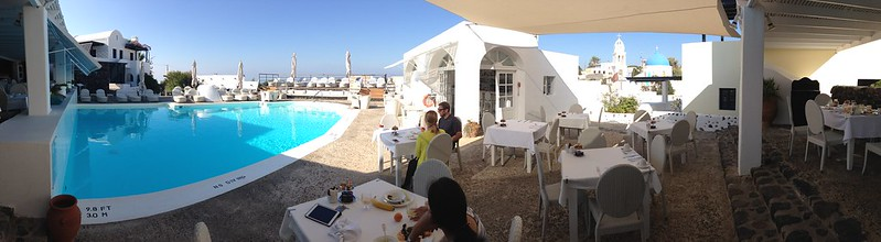 Panorama - at Vedema breakfast