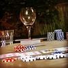 Garden poker party