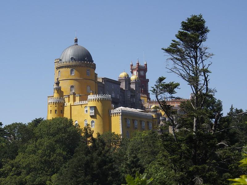 Pena Palace, Portugal, castle, fairytale, hills, Sintra, travel, Seven Wonders, Unesco World Heritage Site