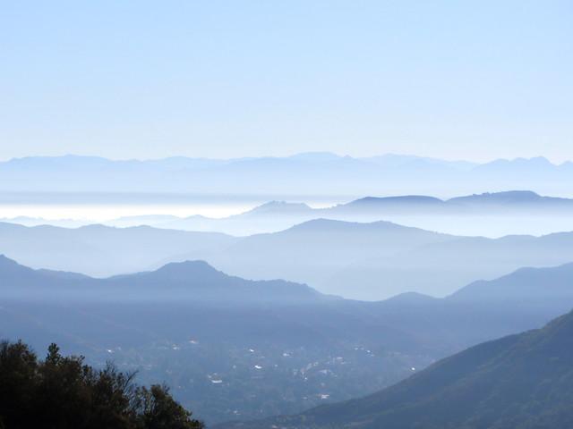mist settles