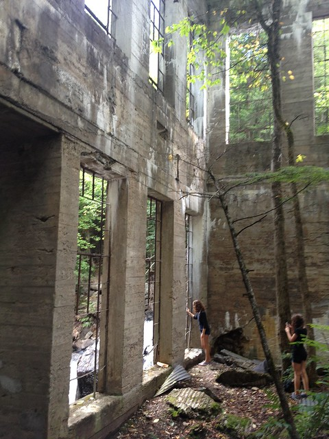 Carbide Willson Ruins, the mill Gatineau Park