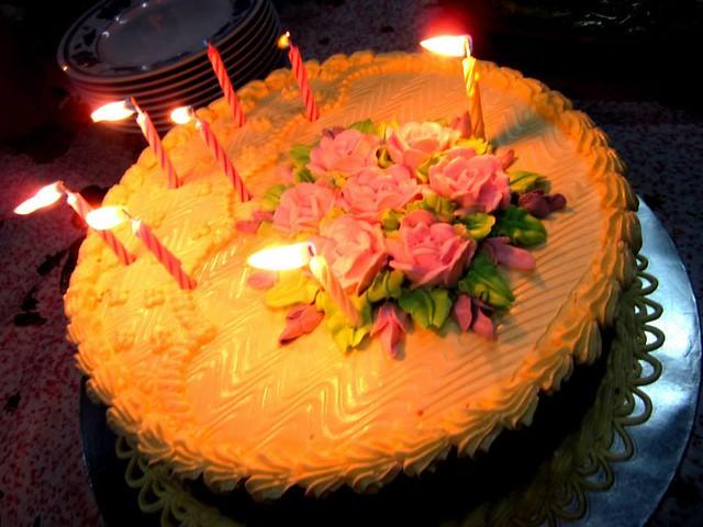 Marcus' birthday cake 1