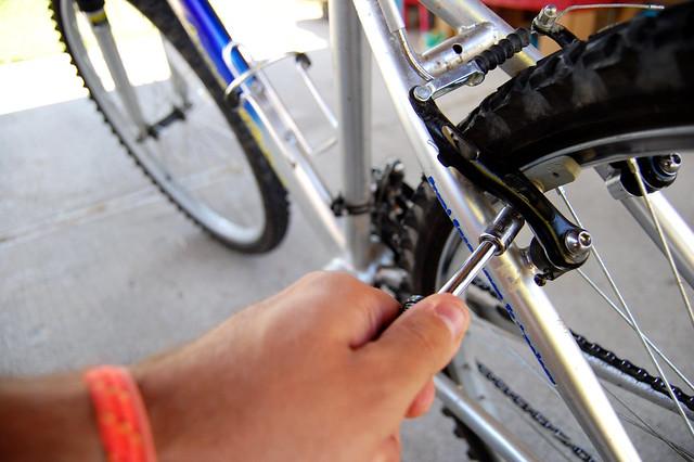 Fixing my Back Bike Brake