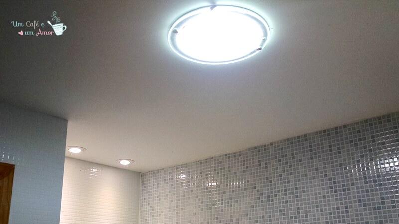 Iluminação Apê - Banheiro