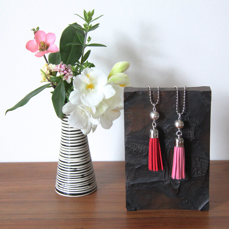 Tassel Necklaces by Crayon Chick