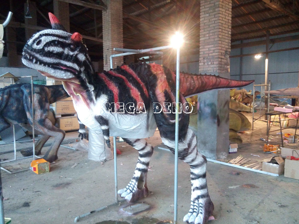 Walking Carnotaurus Costume