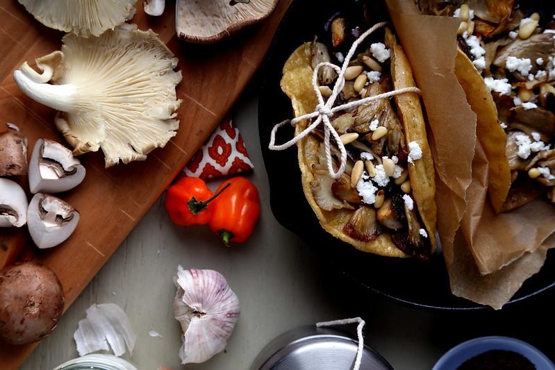 Taco de Hongos (Mushroom Tacos)