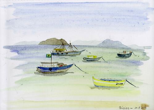 Little boats of Búzios