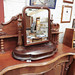 Antique Mahogany Victorian Dresser Mirror € 150