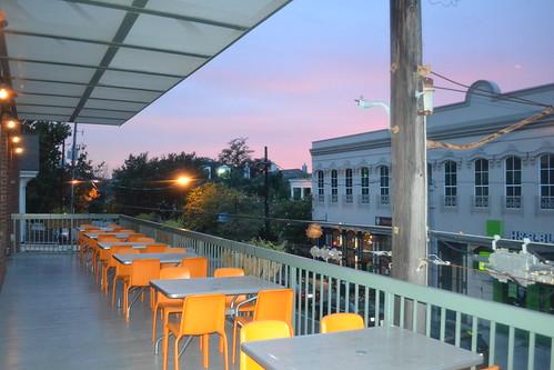 536 Charcoal's Balcony Sunset