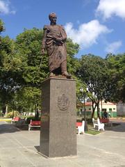 Plaza Bolívar. Caicara de Maturín. Estado Monagas