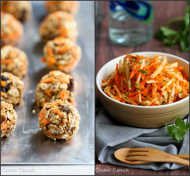 Healthy & Fun Carrot Recipes | cookincanuck.com #vegetarian