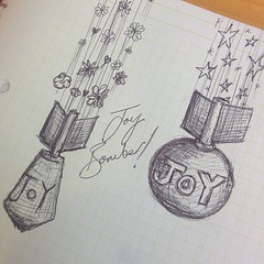 Joy bomber. Memory aid.