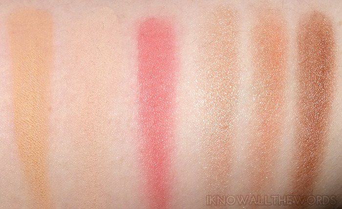 essence swatches