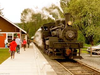 A Willamette locomotive