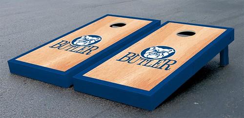 Butler Bulldogs Cornhole Game Set Hardcourt Wooden
