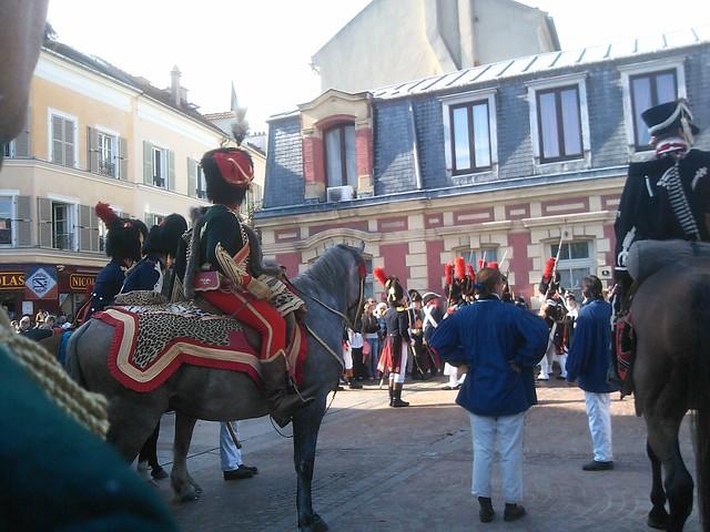 Cavaliers lors du 2ème jubilé impérial à Rueil Malmaison